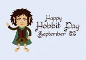 Hobbit Day vector