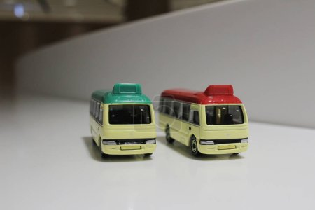 The mini bus toys at hong kong...