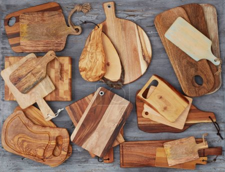 Wooden cutting board collection