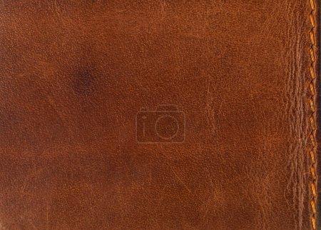 Photo pour Fond de détail texture cuir - image libre de droit