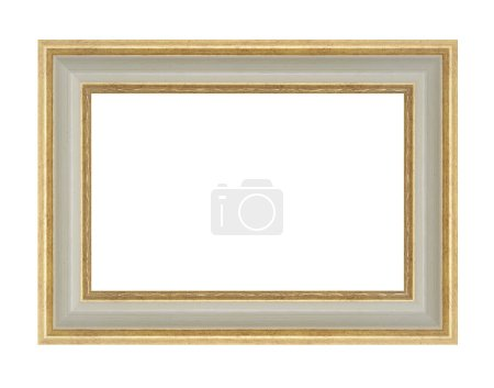 Photo for Picture frame isolated on white - Royalty Free Image