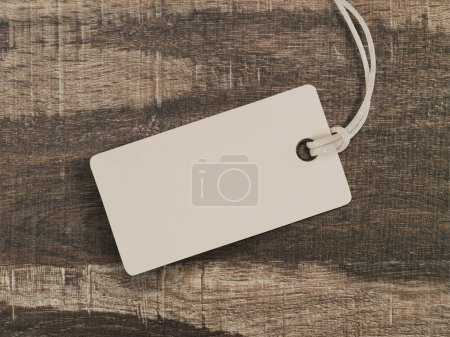 Photo for Price tag on wood - Royalty Free Image
