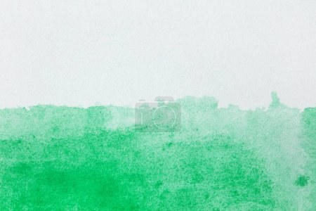 Photo pour Coup d'aquarelle sur papier avec copyspace - image libre de droit