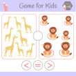 Logic educational game for preschool children.Cart...