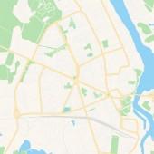 Narva Estonia printable map