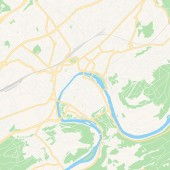 Besancon France printable map