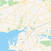 La Rochelle France printable map