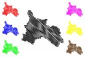 Son La Province map vecto