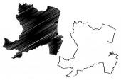 Aberdeen map vecto