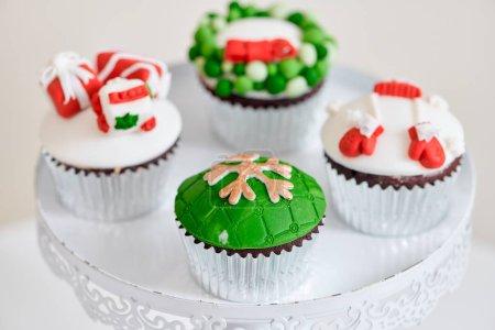 Seasonal festive christmas mini dessert