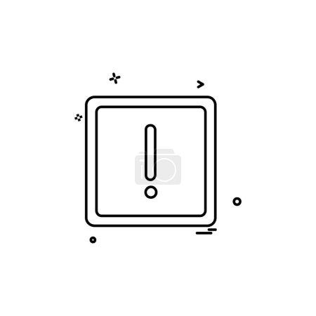 Info icon design vector