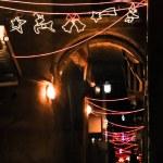 Christmas illumination, girdyands, star of the Mag...