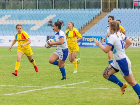 Dnipro, Ukraine - June 23, 2018:  Rugby Europe Wom...