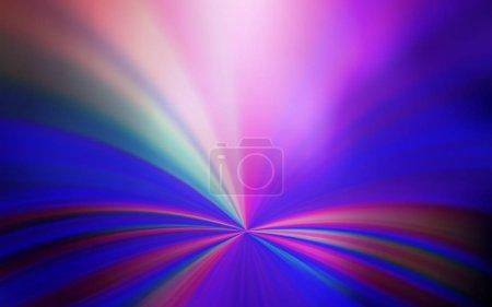 Foto de Plantilla brillante abstracta vectorial de púrpura claro. Una ilustración completamente nueva en color en estilo de desenfoque. Nueva forma de diseño. - Imagen libre de derechos