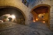 camerata cornello ancient medieval village in Italy