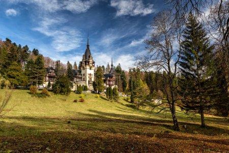 Pele Castle in Transilvania Romania