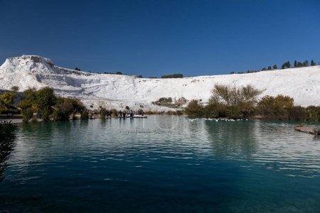 great landscape in Pamukkale Turkey