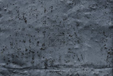 Photo for Grunge background with old peeling grey paint. Grunge wall. - Royalty Free Image