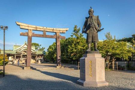 A buddhist temple in Osaka, Japan
