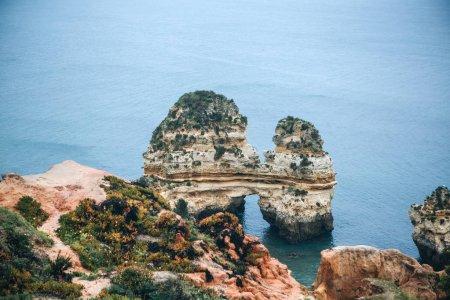 Beautiful views of the Atlantic Ocean and the rocks.