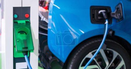 Photo pour Charge conductive pour véhicules électriques - image libre de droit