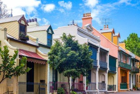 Australia Sydney the traditional houses