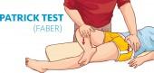 Vector illustration of a  Patrick Faber Test