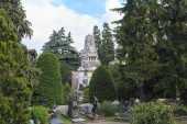 Monumental Cemetery in Milan