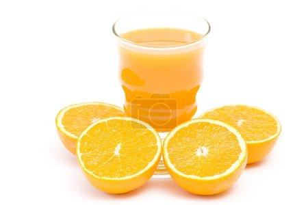 Photo pour Bouchent avec jus d'orange - image libre de droit