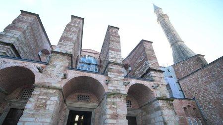 Mauern der Hagia Sophia in Istanbul. Türkei.