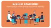 Illustration International Business Conference