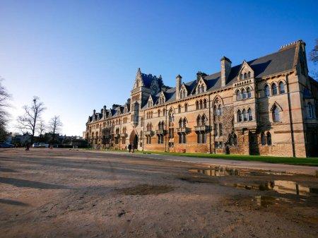 Photo pour Christ Church, Oxford University, Uk - image libre de droit