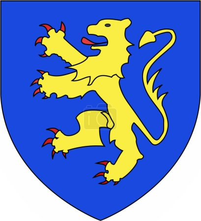 Coat of arms of house de Brienne