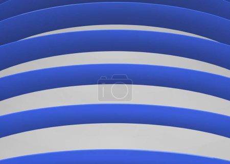 Photo pour Lignes bleues blanches, plein cadre - image libre de droit