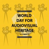 World Day for Audiovisual Heritage Concept