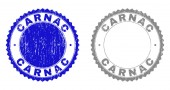 Grunge CARNAC Scratched Stamp Seals