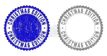 Grunge CHRISTMAS EDITION Textured Stamp Seals