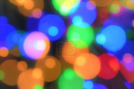 Photo pour Nouvelle année célébrer avec la lumière d'étincelle de couleur et le feu d'artifice - image libre de droit