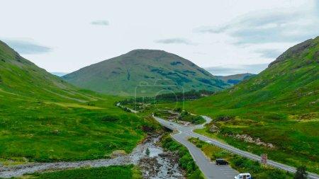 Photo pour Superbe paysage de Glencoe dans les Highlands d'Écosse - image libre de droit