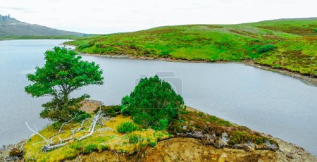 Photo for The beautiful lakes and landscape of the Isle of Skye in Scotland - Royalty Free Image