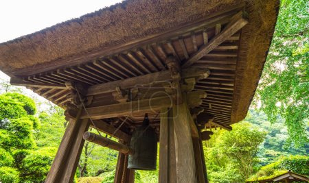 Photo for Japanese Bell in a Temple in Kamakura - Royalty Free Image