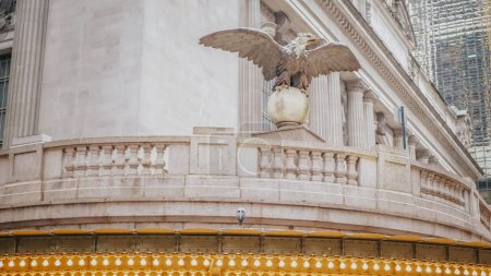Photo pour New York Grand Central station à Manhattan - photographie de voyage - image libre de droit