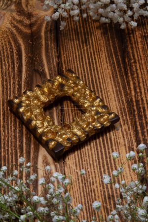 Photo for Christmas decoration on wooden background - Royalty Free Image