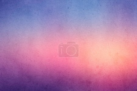 Colorful gradient watercolor paint on old paper wi...