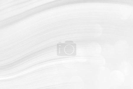 Photo pour Fond blanc tendance avec une courbe lisse de lignes et d'ondes cosmiques, illustration pour un beau design moderne. Texture des étincelles grises festives, un motif pour papier peint sur l'économiseur d'écran . - image libre de droit