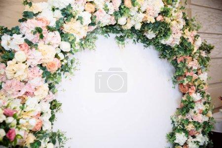 The concept of wedding decor, street decoration, w...