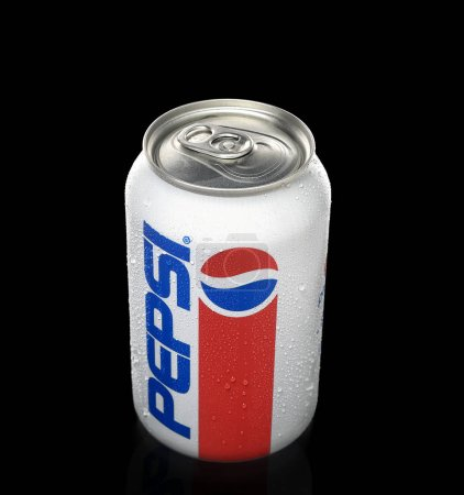 cold can of pepsi drink