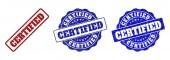 CERTIFIED Grunge Stamp Seals