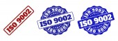 ISO 9002 Scratched Stamp Seals