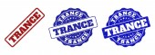 TRANCE Scratched Stamp Seals